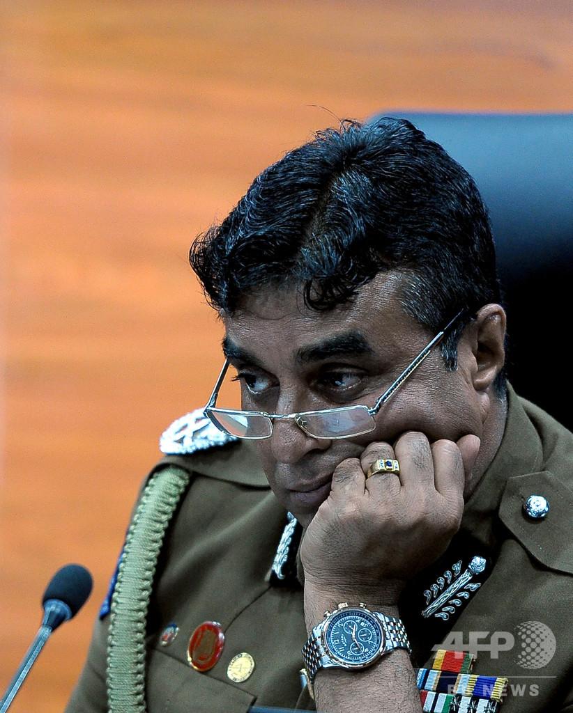 スリランカ連続爆発、警察長官が辞任 国防次官に続き引責