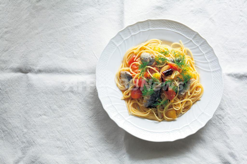<La Cuillère de marie claire style>第4回 鰯とトマトのペペロンチーノ
