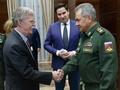ロシア訪問のボルトン米大統領補佐官、ロ国防相と会談