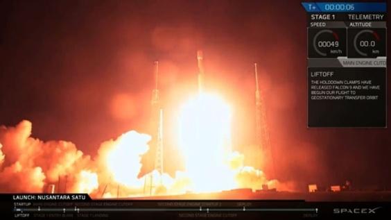動画:イスラエル、月面探査機を打ち上げ 月面着陸成功なら民間初