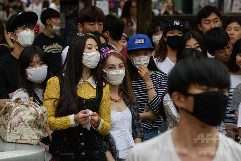 韓国MERSの死者20人に 隔離者以外も感染、当局に批判