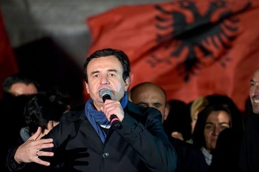 コソボ総選挙、野党が勝利 長期支配の「元ゲリラ」与党敗退