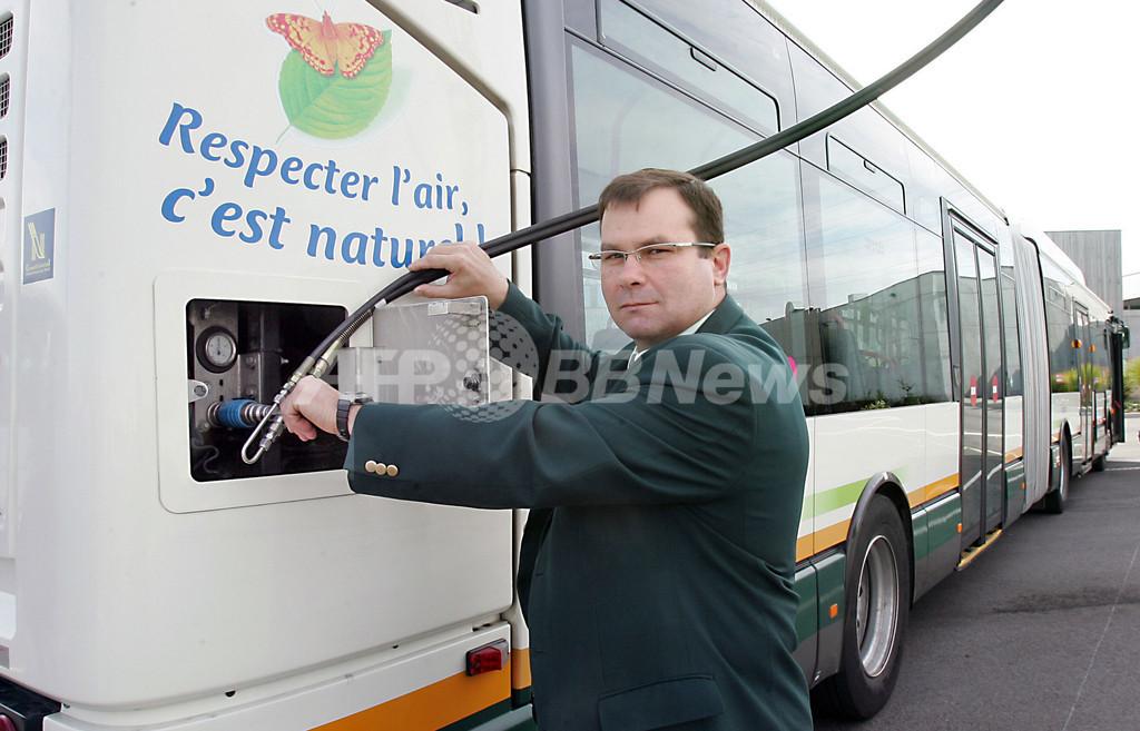 家庭ゴミでバスを運行、仏リール市
