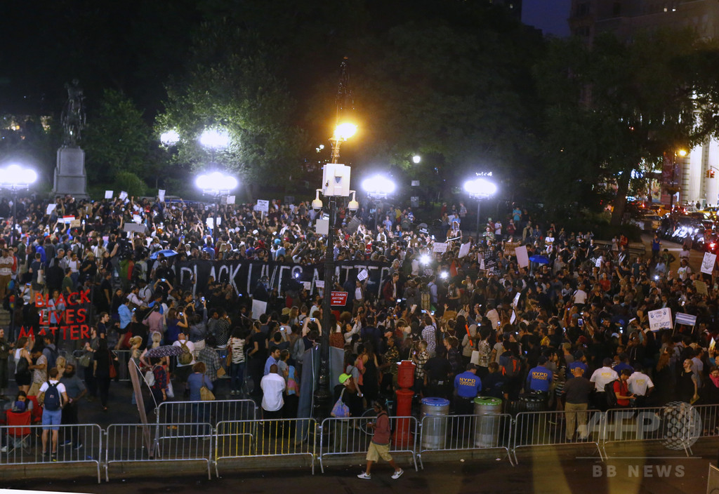 全米で警察への抗議デモ、収まる気配なし