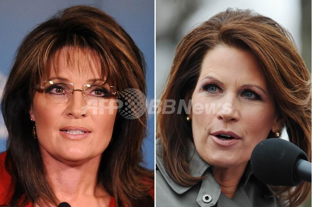 ペイリンvsバックマン、注目集める2人の共和党女性 米国