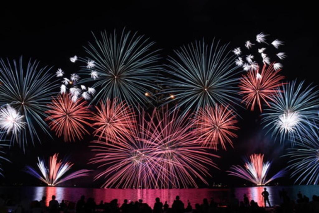 約7,000発の花火が湖畔を彩る、2019 彦根・北びわ湖大花火大会を開催します