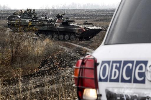 ウクライナ東部からの撤収が最終段階、パリでの首脳会談の実現近づく