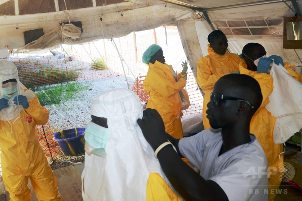 ギニアビサウ、エボラ発生国ギニアとの国境封鎖へ