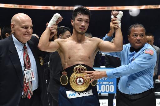 村田諒太がタイトル防衛、バトラーに5回TKO勝ち WBA世界ミドル級