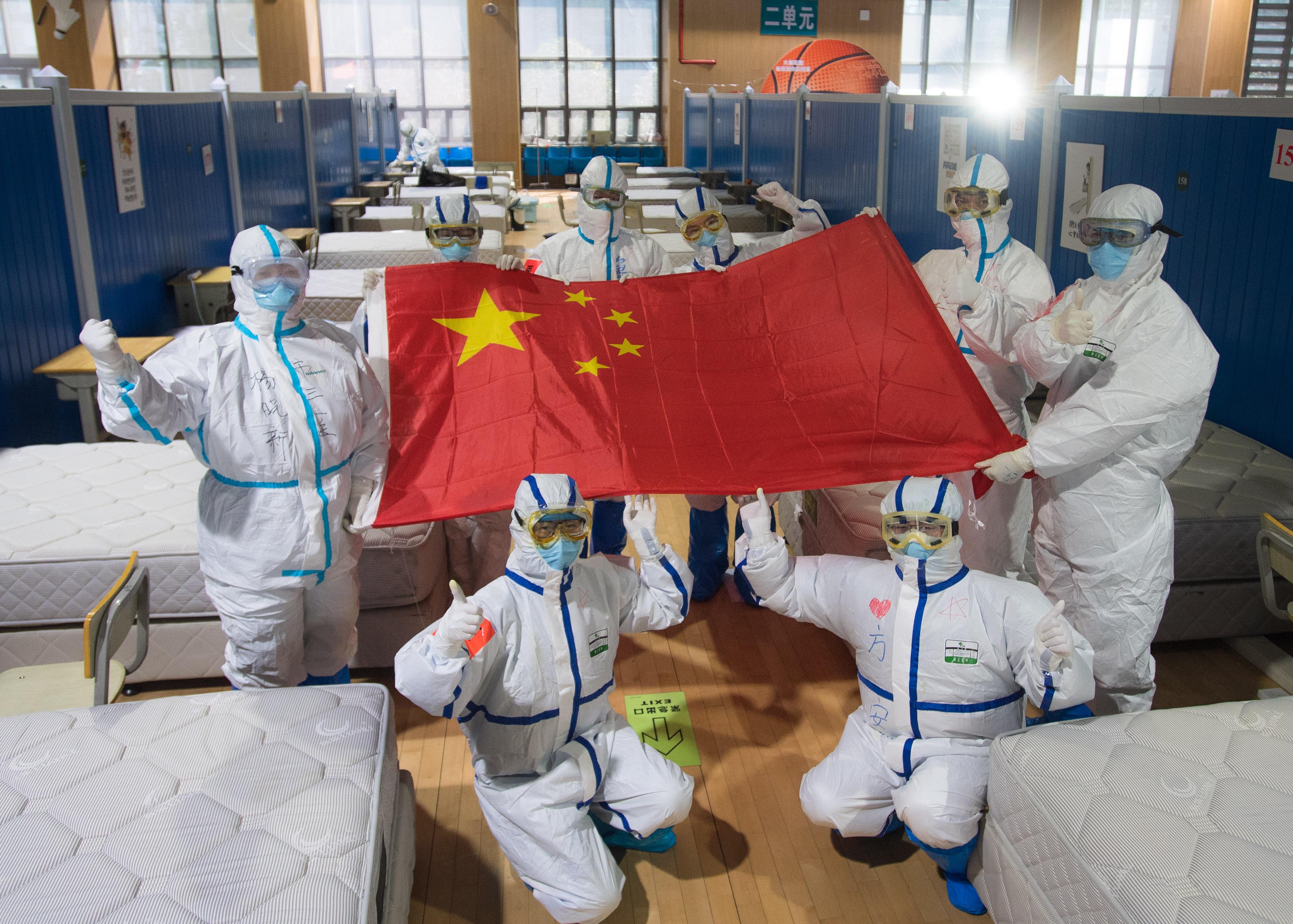中国の新型肺炎流行、全体としてピーク過ぎた 国家衛生健康委