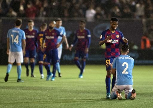 バルサとレアルが3部の格下に辛勝、国王杯3回戦