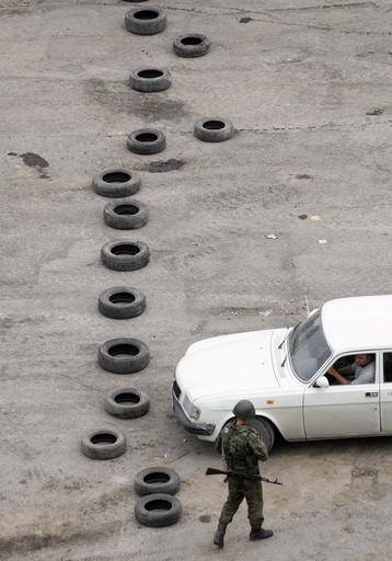 ブッシュ大統領、ロシア軍のグルジア撤退を強調