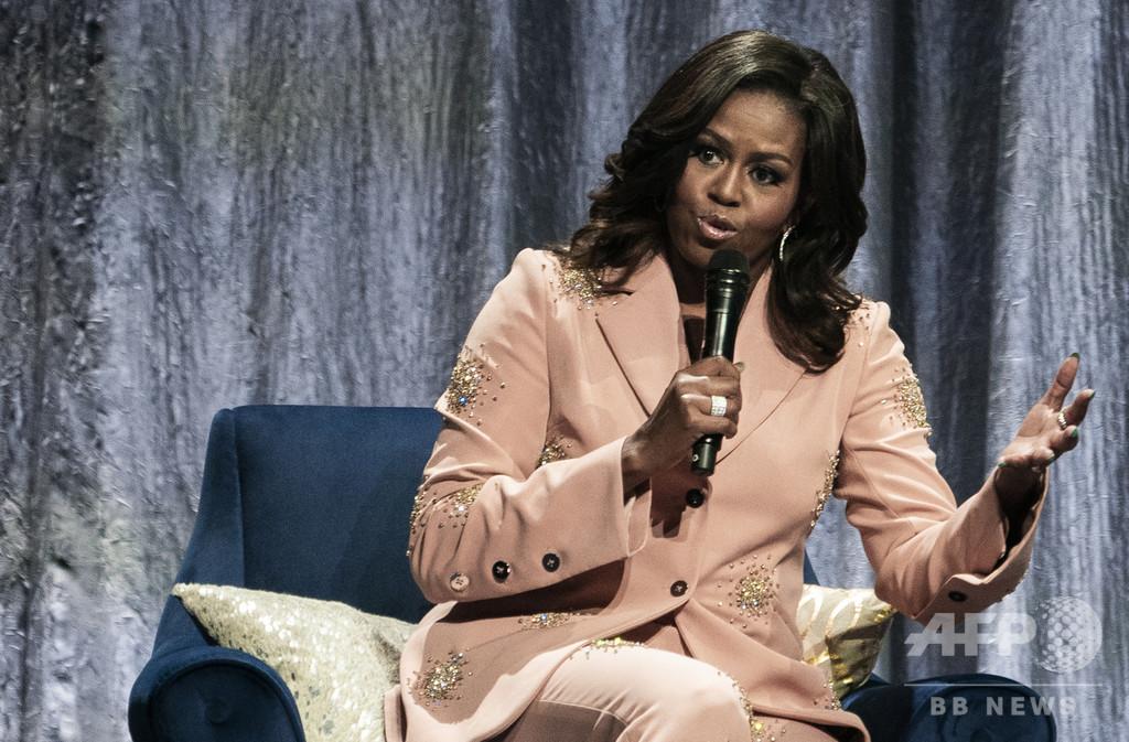 ミシェル夫人、「あなたのではなく私たちの米国」 トランプ氏に反論
