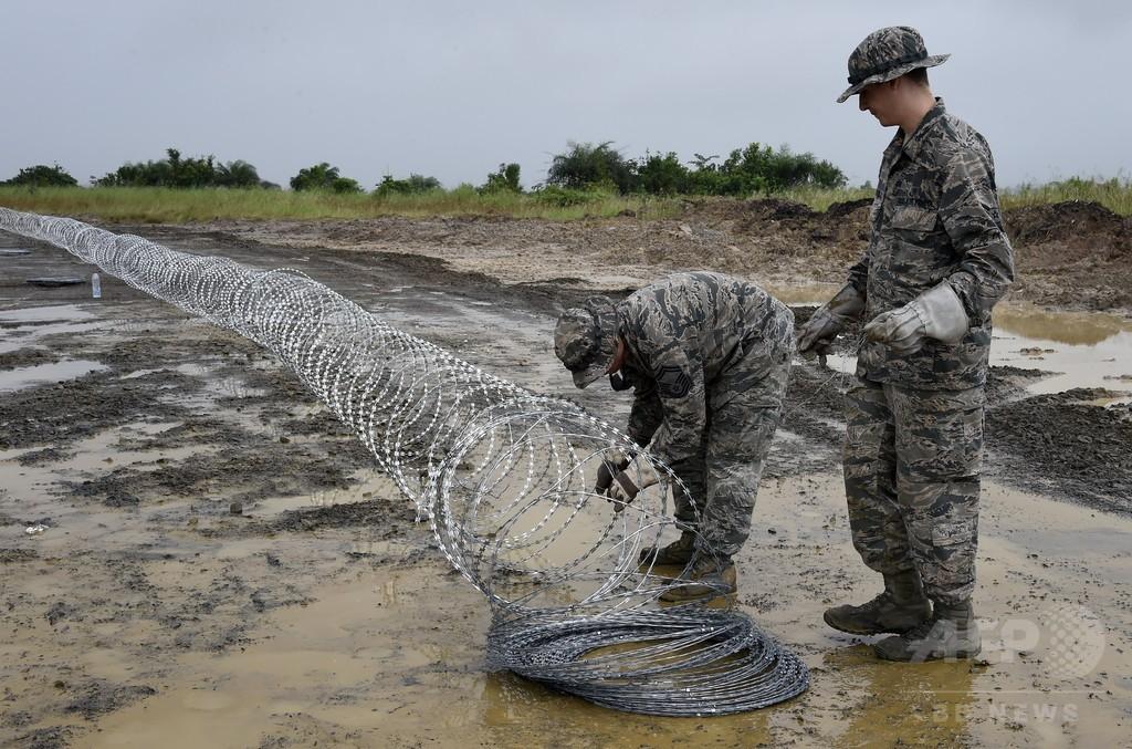 エボラ支援で西アフリカに派遣の米兵、帰国直後に死亡