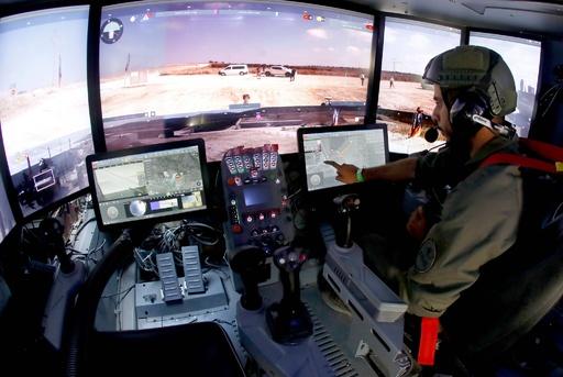 まるでゲーム? 「未来の戦車」イスラエルが試作機を公開