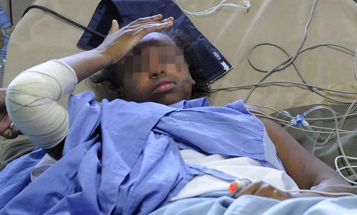イエメン航空機墜落事故、少女は10時間以上漂流