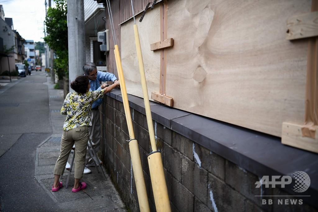 台風10号、今まで経験ない暴風・大雨の恐れ