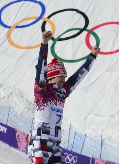 ワイルドが男子パラレル大回転で金メダル、ソチ五輪