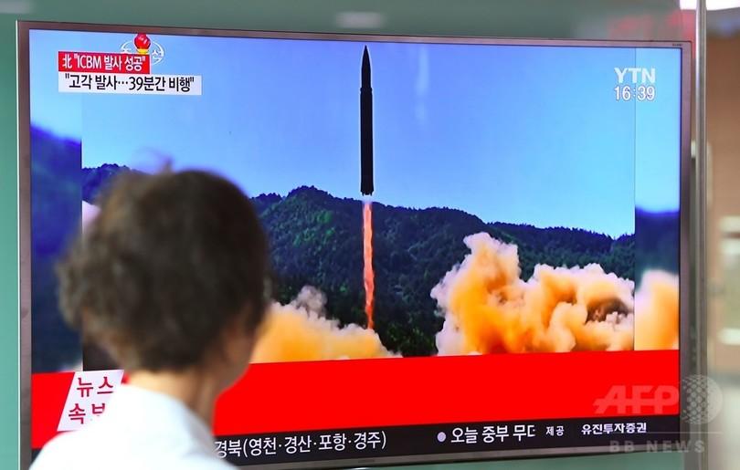 北、ICBMは核弾頭搭載可能と主張 金氏「米独立記念日の贈り物」