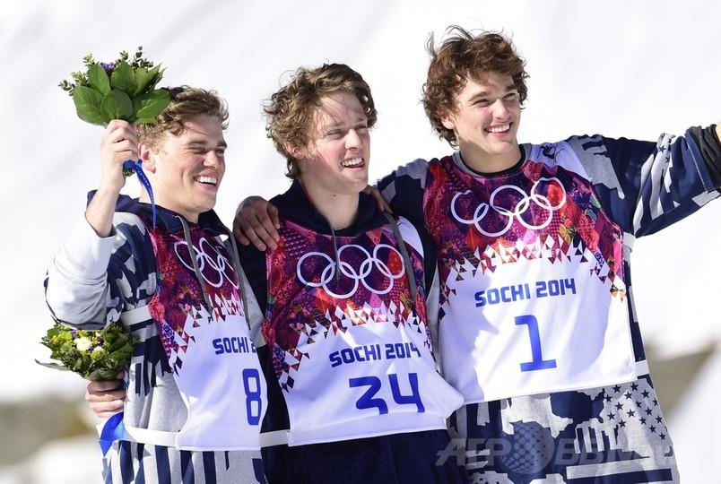 クリステンセンが金メダル、米国...