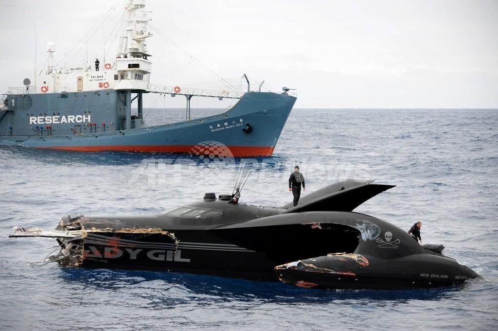 「抗議船沈没は自作自演」、シー・シェパード元船長が暴露
