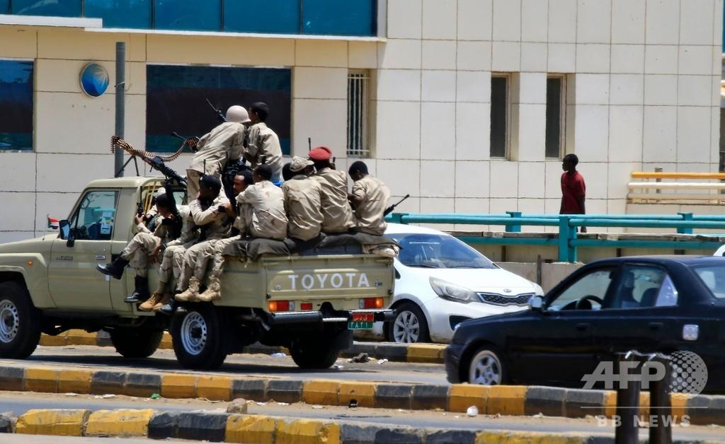 スーダン首都、住民は「恐怖の中で生活」 デモ排除で多数死亡