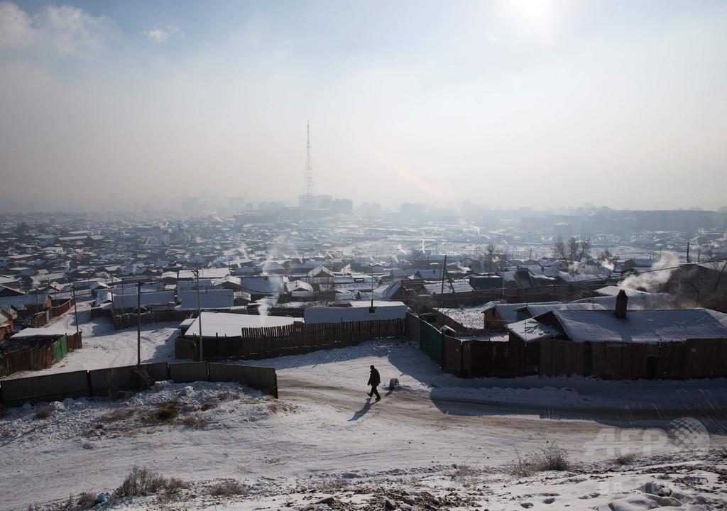 「酸素カクテル」を飲む住民も、モンゴル首都の強烈な大気汚染