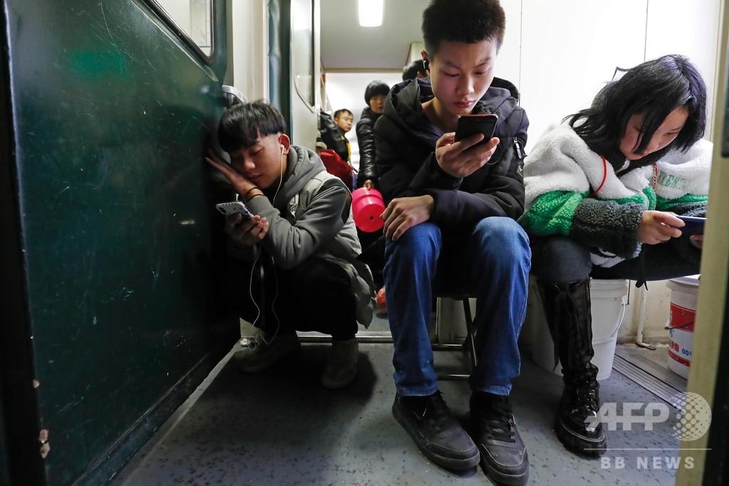 モバイルで楽しむ故郷までの長い道、中国の帰省