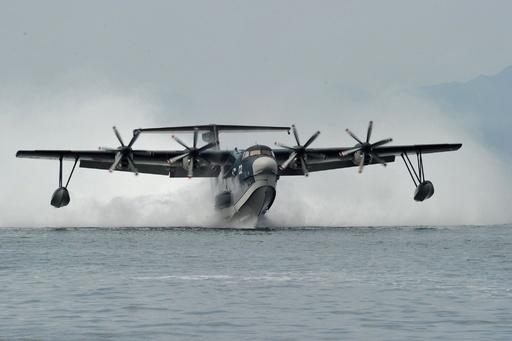 救難飛行艇US-2、輸出に向け日印首脳会談で協議