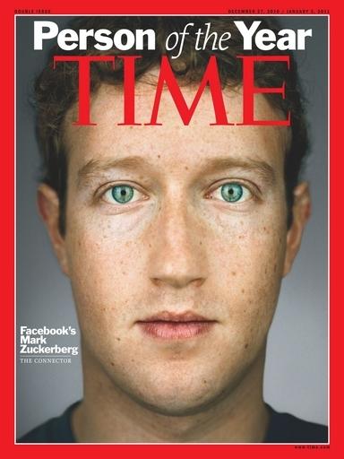 「今年の人」はフェースブック創業者、米誌タイム