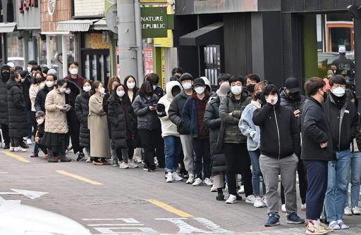 韓国、新型コロナ感染者2000人超に BTSもソウル公演中止