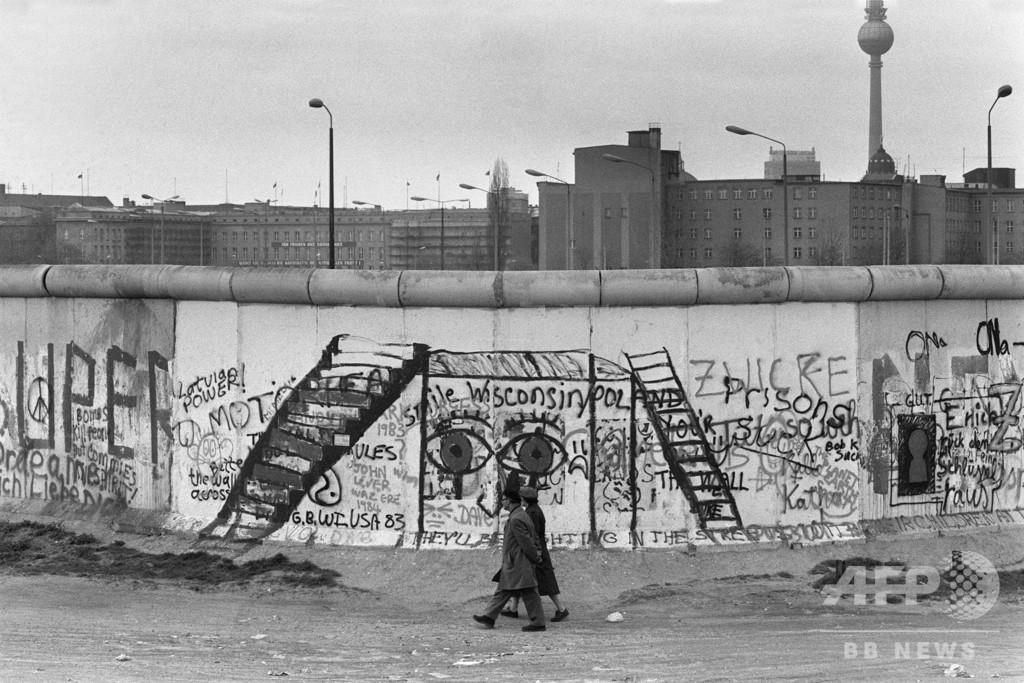 動いた群衆と崩れた壁 世界を変えた1989年11月9日