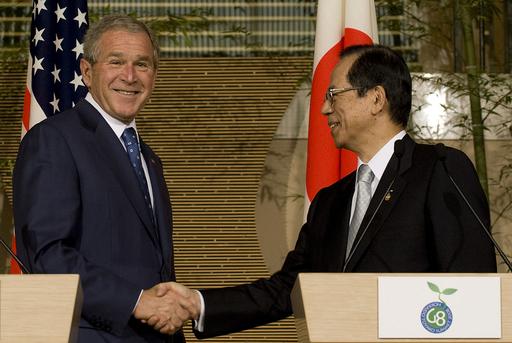 日米首脳、原油価格高騰・食糧問題の迅速な解決を強調