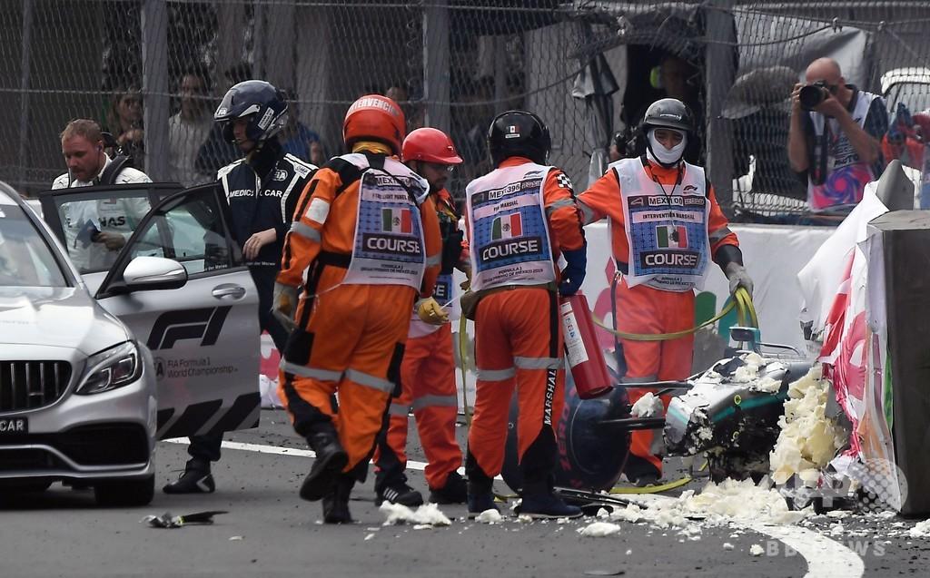 ボッタスがメキシコGP予選で大クラッシュ、「リスク」取った