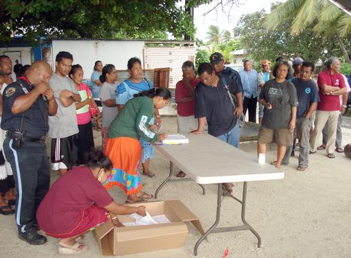 マーシャル諸島の国政選挙、投票所が開かず混乱