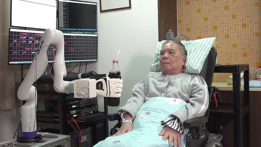 動画:浙江省のまひ患者、「意識制御」で運動能力を取り戻す