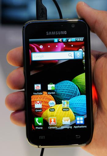 アンドロイド携帯、スマホシェア50%超で1位に 第3四半期