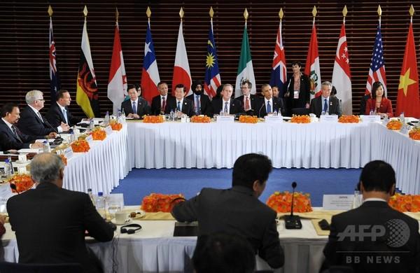 TPPを取り巻く不穏な政治