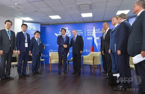 日露首脳会談、領土問題の見通しは依然不透明
