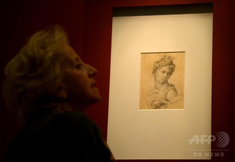 隠されたミケランジェロの素描、一般公開 伊ローマ