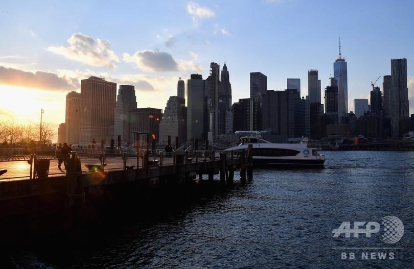 NY市、マンハッタン洪水対策に560億円 気候変動に備え