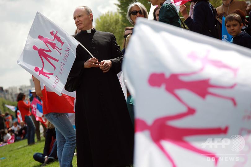 カトリック聖職者の8割は同性愛者、秘密主義で虐待正せず 仏社会学者が新著
