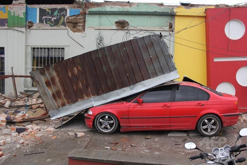 グアテマラでM6.9の強い地震、5人死亡