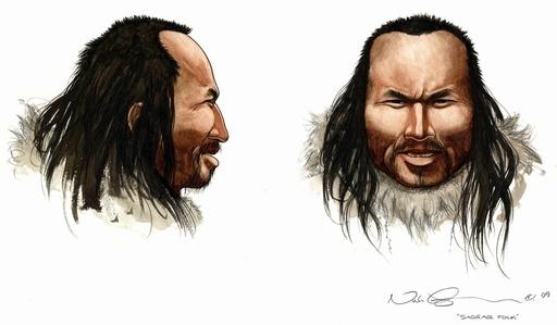 グリーンランドの古代人はアジア系、ゲノム解読で顔を再現