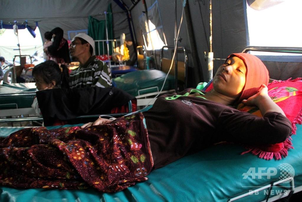 地震相次いだロンボク島、137人がマラリア感染 緊急事態を宣言
