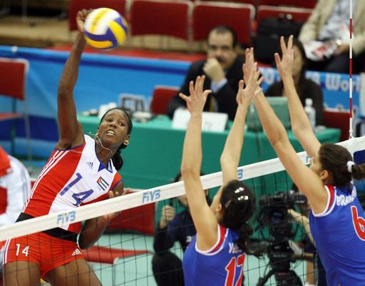 キューバ セルビアを降し8勝3敗で大会を終える