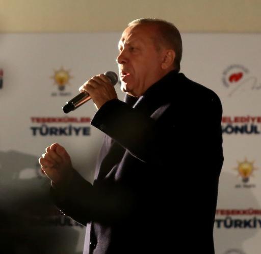 トルコ統一地方選、2大都市で与党敗北 エルドアン政権に大打撃