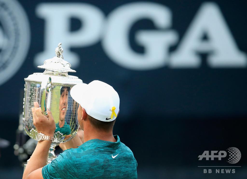 全米プロゴルフ選手権が延期に、米男子ツアーの中断期間も延長