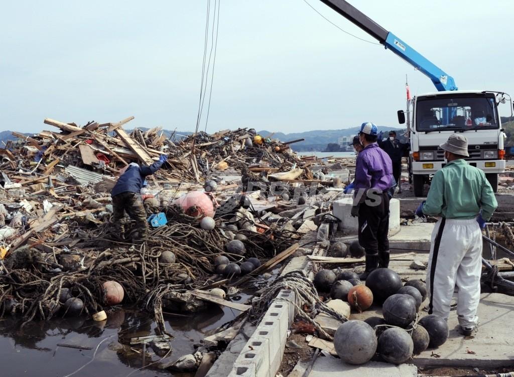 米アラスカ沿岸で日本からの漂着物が激増