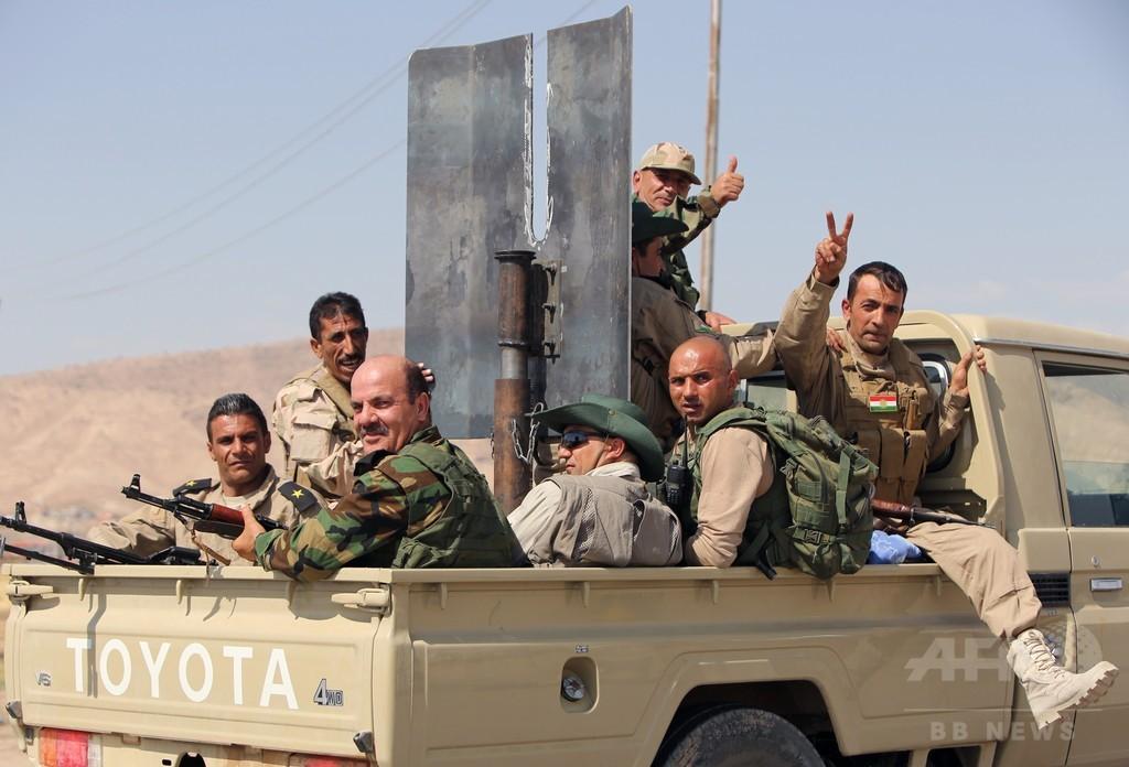米軍、イラク北部のダム付近で15回空爆